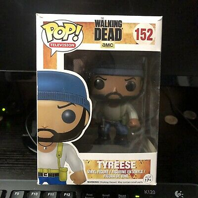 Funko POP   Television The Walking Dead - Tyreese 152   Brand New