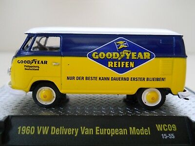 341953fa61 M2 Machines - Wild-Cards - Goodyear Tires - 1960 Vw Delivery Van European  Model