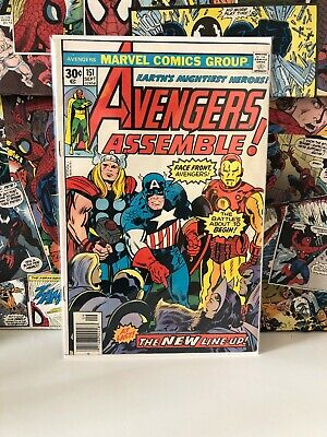 Avengers - Marvel Comics - Jack Kirby Cover - Issue #151
