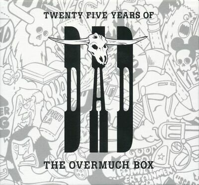 12 Cd D.a.d. Dad - The Overmuch Box  Twenty Five 25 Years Of, Rar Rare