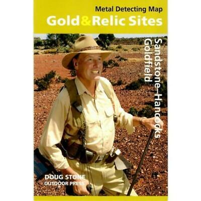 WA - Gold & Relic Sites - Metal Detecting Map - Region: Sandstone-Hancock For...