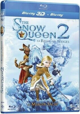 The snow queen 2 La reine des neiges Le miroir sacré BLU-RAY 3D NEUF