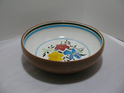 """Fabulous Stangl Art Pottery Large """"Country Garden"""" Serving Bowl"""