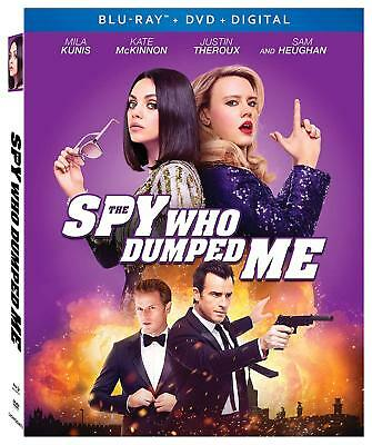 The Spy Who Dumped Me (Blu-ray + DVD, 2018, 2-Disc Set) Mila Kunis +Slipcover