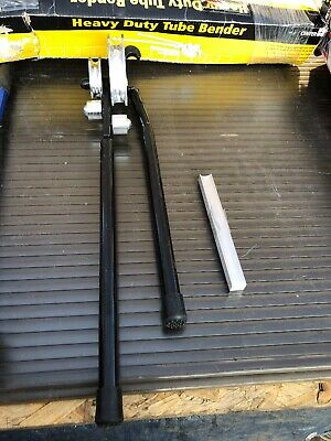 Heavy Duty Tube Bender 22/15mm Black With 22mm Former