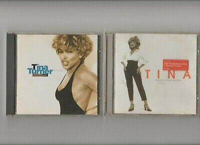 Tina Turner Twenty Four Seven + Simply The Best  greatest hits TWO CD Albums