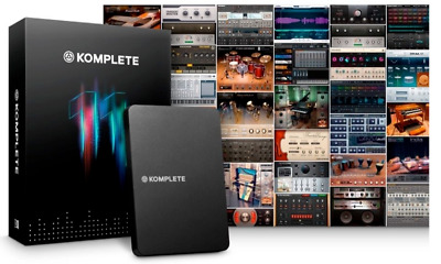 NATIVE INSTRUMENTS KOMPLETE 11 Update | Transfer ID and License Key Only.