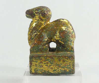 2,000 Year-Old Chinese Gilt-Bronze Judge's Ram Seal.c.Eastern Han Dyn. 25-220 AD