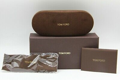 New Tom Ford Sunglasses Eyeglasses Optical Hard Small Brown Case Case