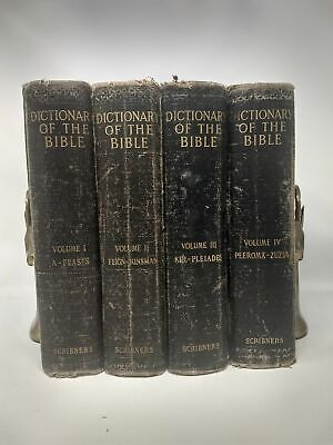 James Hastings DICTIONARY OF THE BIBLE DEALING WITH ITS LANGUAGE LITERATURE 1900