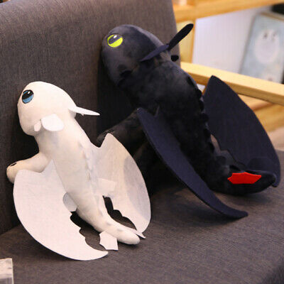 How to Train Your Dragon Toothless Night Fury Stuffed Animal Plush Toy Gift 35cm