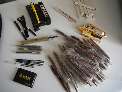 Collection over 100 Misc. DRUG Rep Promo Items - Pens, openers FREE ShpN