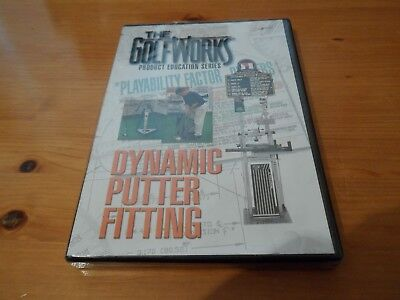 Dynamic Putter Fitting The Golfworks Product Education Series DVD New & Sealed.
