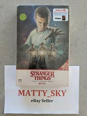 Stranger Things Season 1 Netflix Target Exclusive 4K UHD + Blu-Ray *NEW/SEALED*