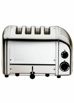 DUALIT 4 Slice/Slot Classic Vario AWS Toaster 40378 Polished Stainless Steel