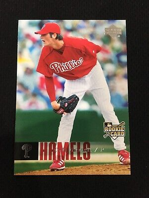 COLE HAMELS ROOKIE RC 2006 UPPER DECK Cubs / Phillies BASEBALL CARD