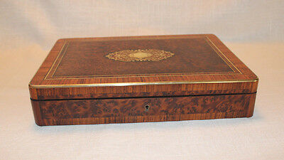 "French Antique ""Tahan"" Box with Gaming Chips-- Executive Gift"