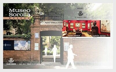 H01 Spagna 2019 Museums - Museo Sorolla FDC