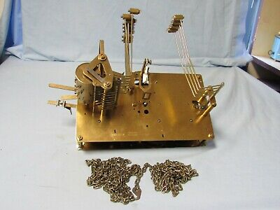 Howard Miller Concerto music Chain Driven Grandfather Clock Movement Only Urgos