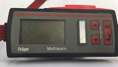 Drager Multi Warn 11 Gas Monitor
