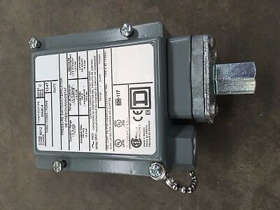 Square D Industrial Pressure Switch 9012 Gaw-4