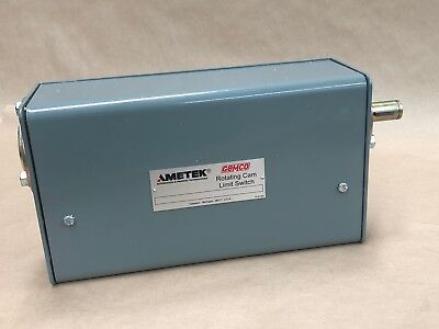 Ametek Gemco 1980-106Rsptd3 Rotating Cam Limit Switch