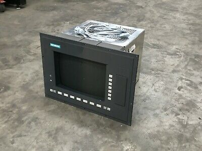 "Siemens 6Fc5103-0Ab01-0Aa1 19"" Op With 14"" Monitior"