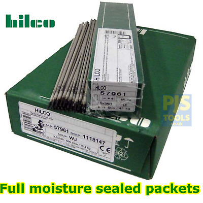 4.2kg or 4.3kg x Hilco E7018 basic low hydrogen electrodes arc welding rods