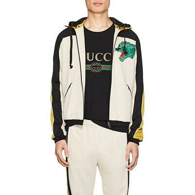 9ed6e6805 BNWT GUCCI ZIP Hooded Spring Floral-Bouquet Print Nylon Jacket w ...