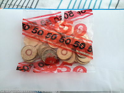 2015 ANZAC Day Red $2 two dollar Coin Mint Bag 25 coins lest we forget unopened