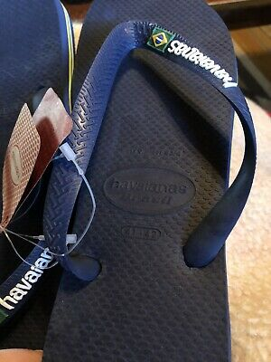 adcc4d1bf HAVAIANAS MENS FLIP flops size 9 Brand NEW!🏖🏝⛵ -  5.00