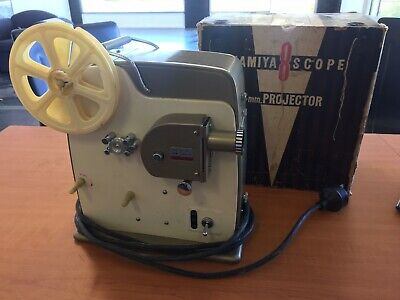 Vintage Mamiya 8 scope Film Projector