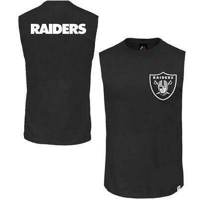 83a75593 SMALL MENS MAJESTIC OAKLAND RAIDERS T Shirt Official NFL Team ...