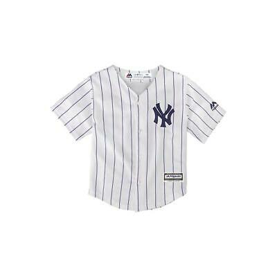 Infants New York Yankees Majestic MLB Cool Base Replica Jersey - White