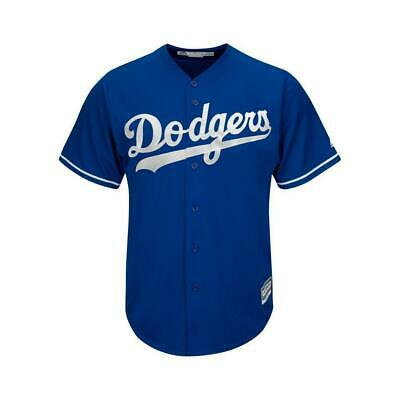 Youths Los Angeles Dodgers Majestic MLB Cool Base Replica Jersey - Blue