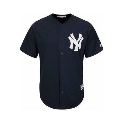 Youths New York Yankees Majestic MLB Cool Base Replica Jersey - Navy