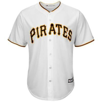 Pittsburgh Pirates Majestic MLB Cool Base Replica Jersey - White