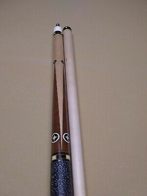 Cloth Interior NEW Round 1x2 WHITE Vinyl Pool Cue Case Hard Tube PJ-WNL