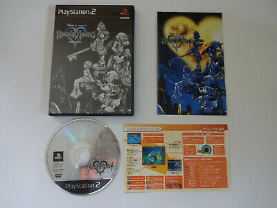 "Sony PlayStation 2 game software ""Kingdom Hearts"" PS2 Japan Edition"