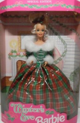 Barbie  Winter's Eve 1994 Special Edition Holiday Christmas