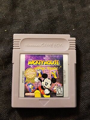 Disney's Mickey Mouse: Magic Wands (Nintendo Game Boy, 1998) tested