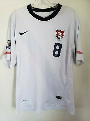 557c33812 NWT CLINT DEMPSEY USMNT Soccer Jersey Team USA World Cup Youth Boys ...