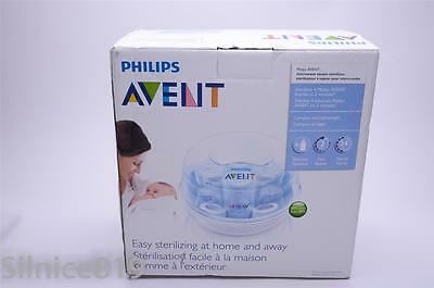 Philips AVENT Microwave Steam Sterilizer NIB