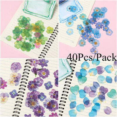 Journal Laptop Photo Scrapbook Decor Paper Sticker Diary Label Flower Stickers
