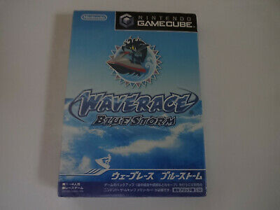 """NEW NINTENDO GAMECUBE Game Software """"Wave Race Blue Storm"""" Japan Edition"""