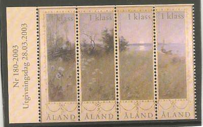 Aland Nr 140 Postfrisch Bo S03333a Europe Stamps