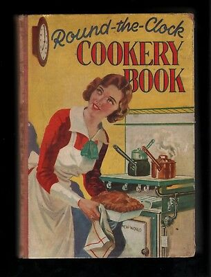 Round-The-Clock Cookery Book   New Wold Gas Cookers
