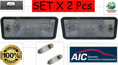 Audi A3 8P A4 B6 B7 A6 C6 A8 Q7 Number License Plate Light Lamp Left+Right Set
