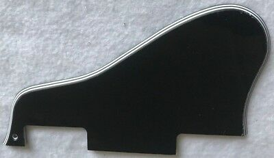 Fits Gibson ES-335 Guitar pickguard Scratch Plate Short,5 Ply Black