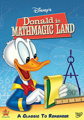 Buena Vista Home Video D102605D Donald In Mathmagic Land (Dvd)